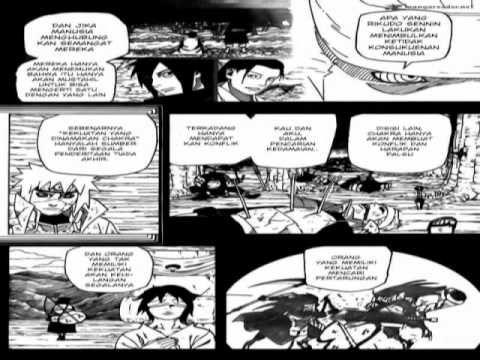 VIDEO Manga Naruto Shippuden Chapter 665 plus musik MP4 - 19 February 2014