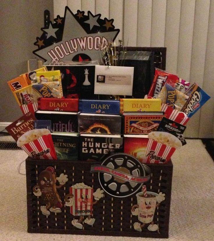 Best 25 movie basket ideas on pinterest movie basket gift key school community annapolis book festival book baskets 2013 blockbuster books into hit negle Choice Image