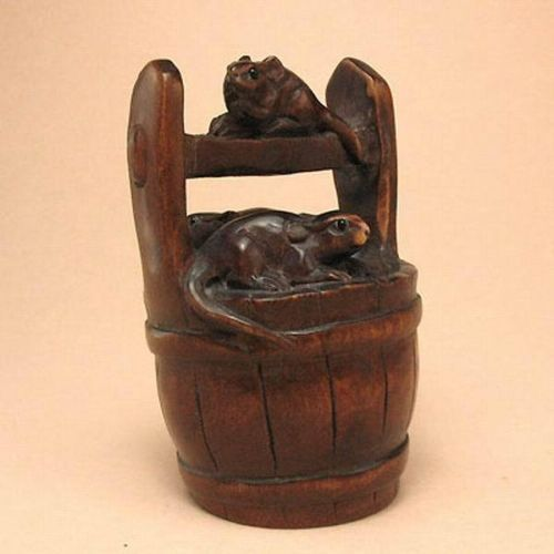 Best netsuke rodents images on pinterest ivory