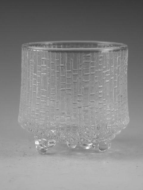 IITTALA cristallo  ULTIMA THULE modello  bicchiere vetro /