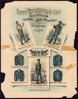 "Levi Strauss & Co.,""Home Industry"" Handbill, c.1890-1900"