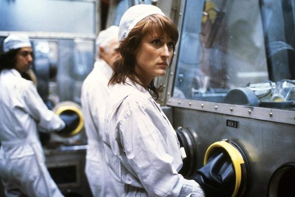 Silkwood (1983) in the role of Karen Silkwood.