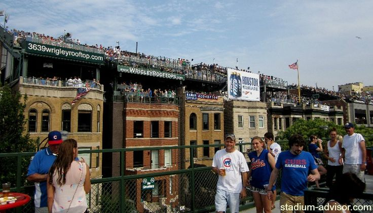 Wanna see the Cubs play, but you do not want to sit in the ballpark? Try the Wrigley Rooftops.