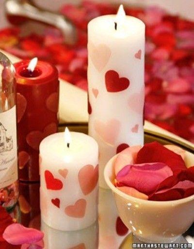 Декорируем свечи своими руками! Сад Романтики, сад любвиСад …
