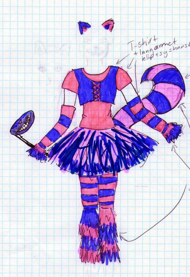The Cheshire Cat costume by Hoejfeld.deviantart.com