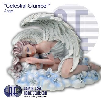 """Celestial Slumber"" Angel Divinity Angels Collection Collectable Angels"