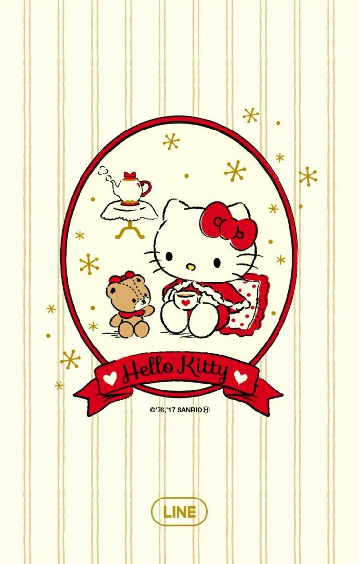 Hello Kitty [Line Wallpaper]