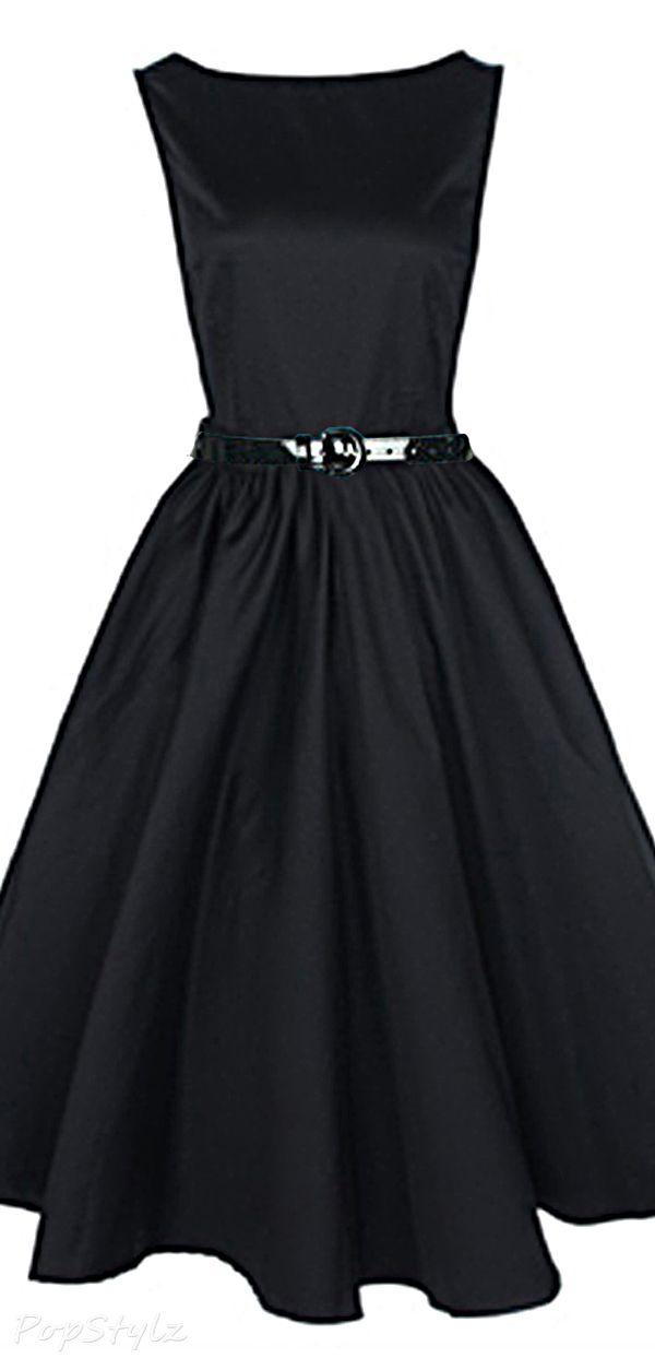 Lindy Bop Vintage 50's Audrey Hepburn Style Rockabilly Swing Dress