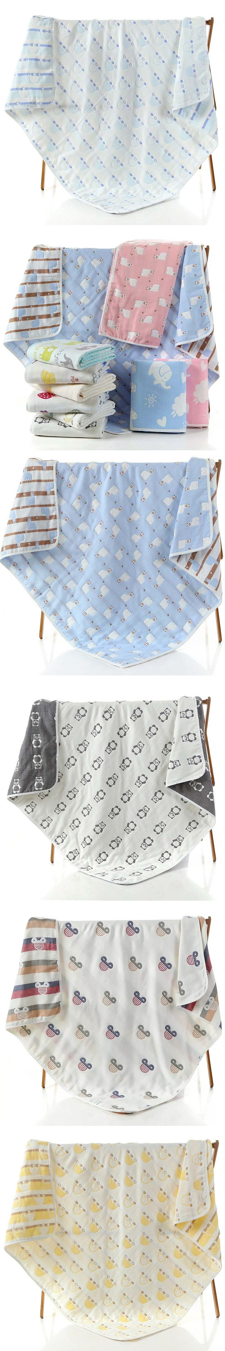 Summitkids 80X80CM Baby Nursing Blanket Coral Fleece Portable Blankie Swaddling Wrap for Strolling Soft Winter Baby Bedding