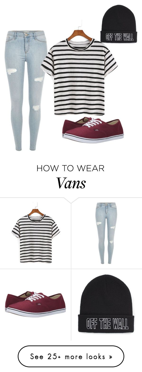 """Untitled #1"" by emmiedallas on Polyvore featuring River Island, Vans, women's clothing, women, female, woman, misses and juniors"