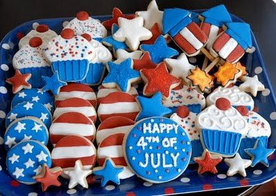 4th of July cookies decorating ideas