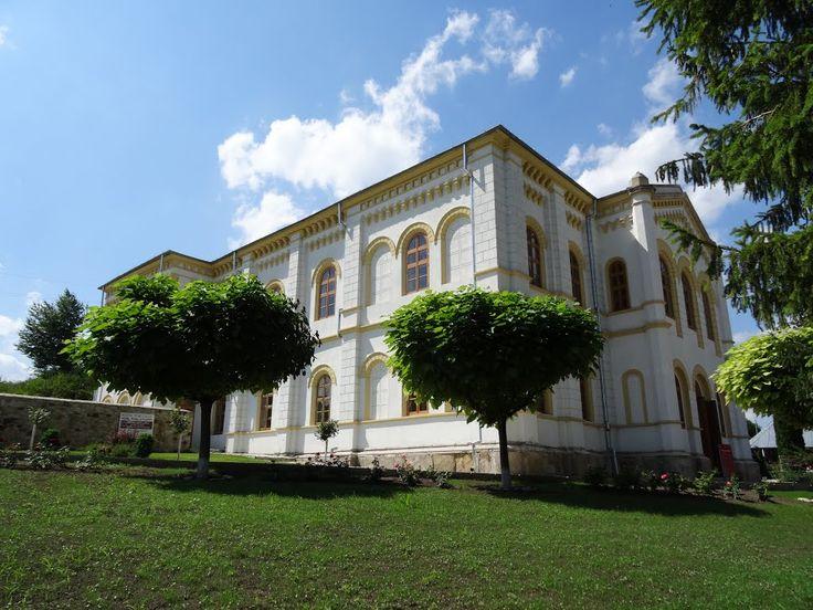 Palatul egumenesc de la Florești