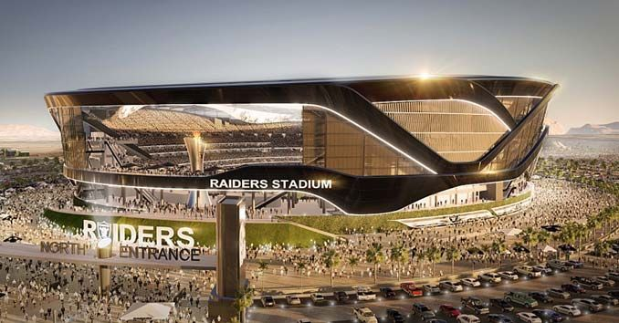 Las Vegas Raiders: The Proposed NFL Football Stadium in Las Vegas