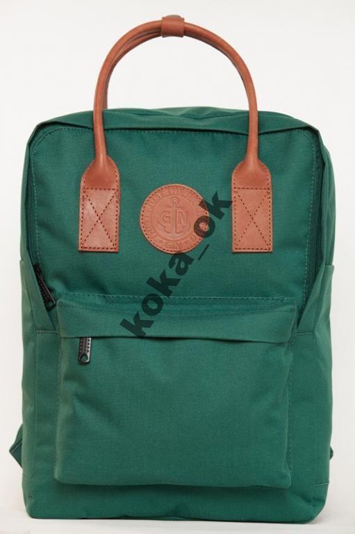 Рюкзак городской молодежный GIN Том Коллинз зелен