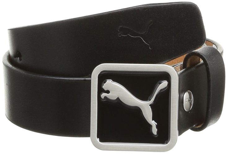 Puma Golf Youth Patch Fitted Ceinture Garçon Noir FR : S (Taille Fabricant : S)