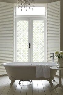 Decorative Bathroom Window Film
