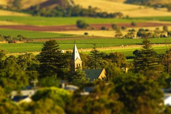Barossa Grounds: View over Tanunda. Image by Dragan Radocaj Photography. © Barossa Grape & Wine Association