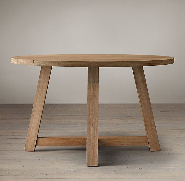 1000 ideas about wooden dining tables on pinterest. Black Bedroom Furniture Sets. Home Design Ideas