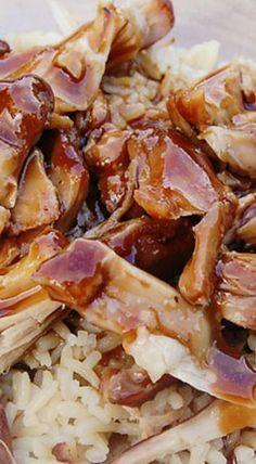 Easy Crock Pot Chicken Teriyaki Recipe
