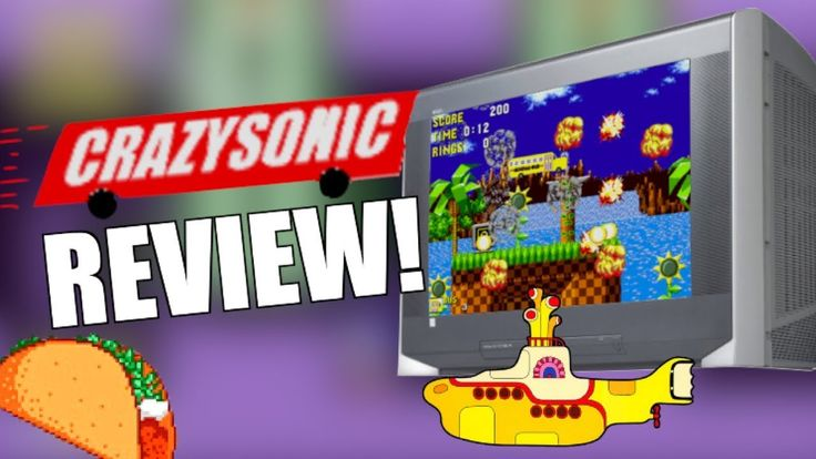 Crazy Sonic Rom Hack Review!