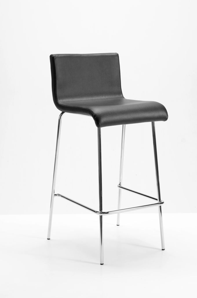 These fixed height designer bar stools with waterfall seats have a distinctive Italian look. & 8 best Designer Italian Leather Bar Stools images on Pinterest ... islam-shia.org