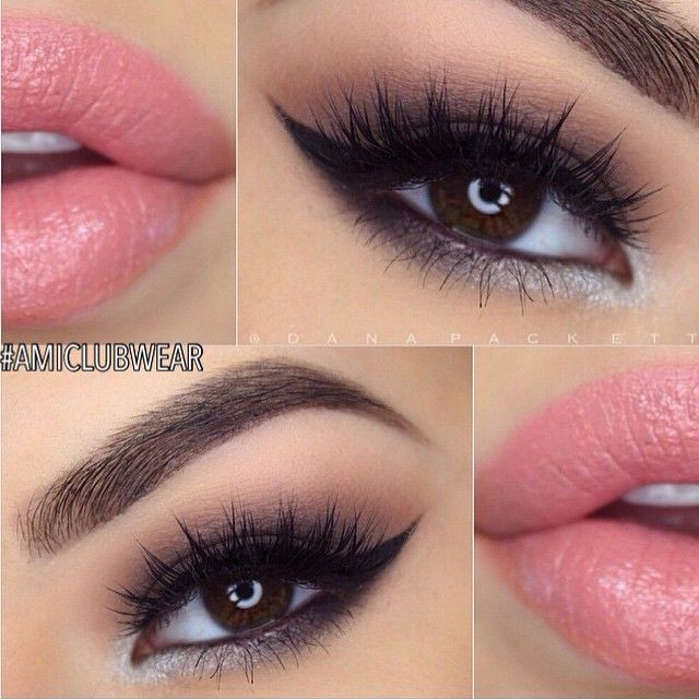 When doing a smokey eye, try adding some silver or gray under the bottom lashes. Eyes look larger and more sultry!! None