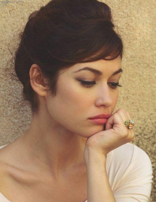 Olga Kurylenko- simple and elegant