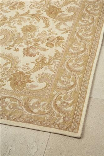 Gold And Ivory Baroque Rug Victorian Themed Use In