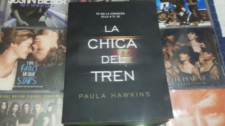 """""""La chica del Tren"""" escrito por Paula Hawkins:"""