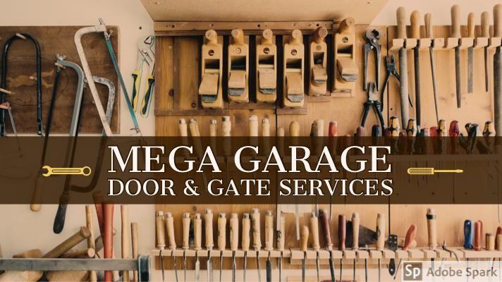 Mega Garage Door Gate In 2020 Automatic Gate Opener Garage Service Door Garage Door Repair