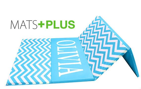 Custom Chevron Folding Mat Great For Little Gymnasts Or