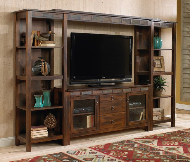 Sunny Designs Santa Fe Entertainment System