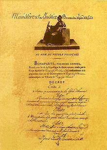 19/05/1802 : création de l'ordre de la Légion d'honneur en France.