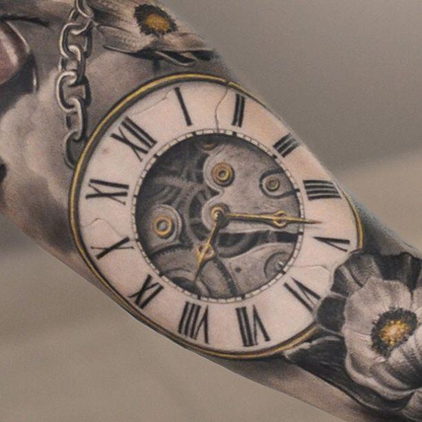 Taschenuhr tattoo hand  Die besten 25+ Uhren tattoos Ideen auf Pinterest | Uhr ...