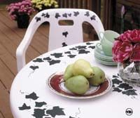 Deck Furniture, Outdoor Furniture, Painting Plastic Garden Furniture