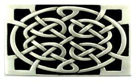 CELTIC KNOT BELT BUCKLE www.beltinbuckles.co.uk
