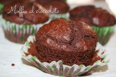 La zucca capricciosa: Muffin al cioccolato senza uova con farina di farro