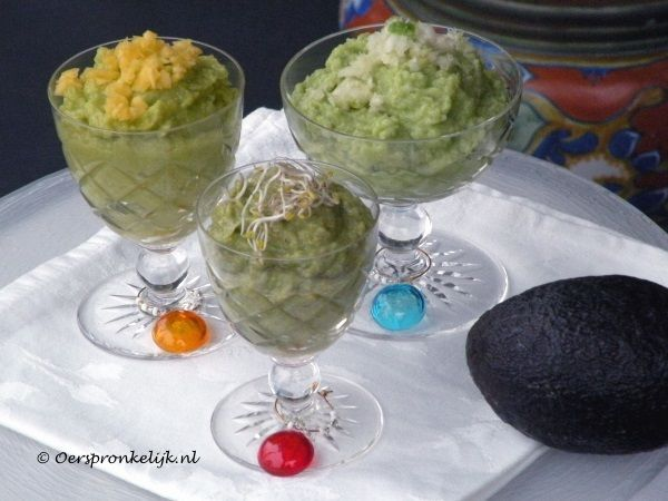 Oerspronkelijk: Guacamole (3 varianten)