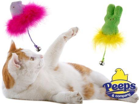 Image of Peeps Bunny & Chick Catnip Toy Combo