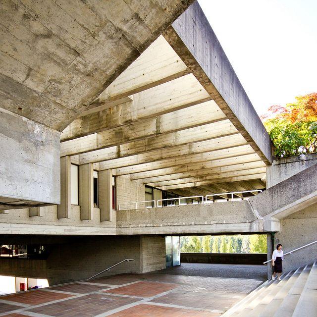 Arthur Erickson, Simon Fraser University