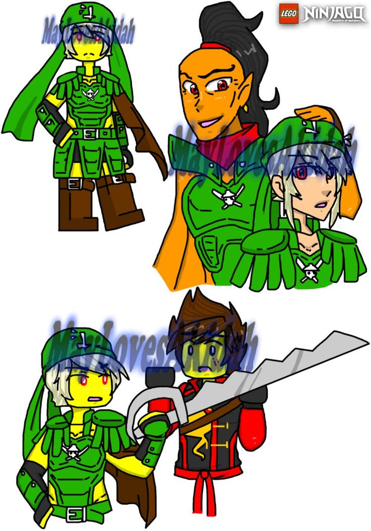 Ninjago au 37 by maylovesakidah on deviantart ninjago - Lego ninjago d or ...
