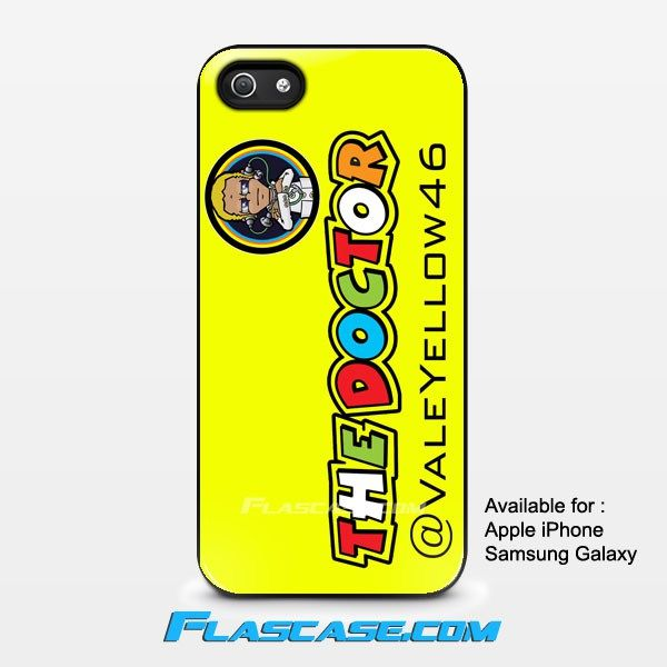 Valentino Rossi The Doctor Valeyellow46 Apple iPhone 4/4s 5/5s 5c 6 6 Plus Samsung Galaxy S3 S4 S5 S6 S6 EDGE Hard Case