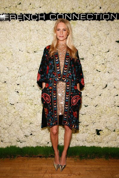 Poppy Delevingne Photos: French Connection Collection Preview Party