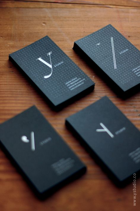 biz card / Y Identity - one company many logos