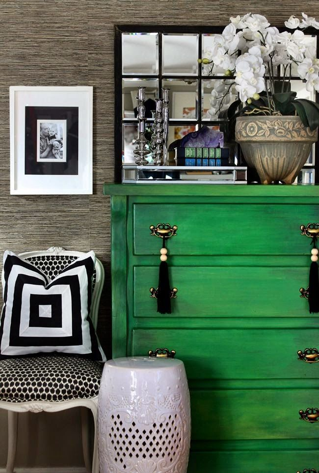 South Shore Decorating Blog Gorgoeus Emerald Green Rooms And Pops Of Color