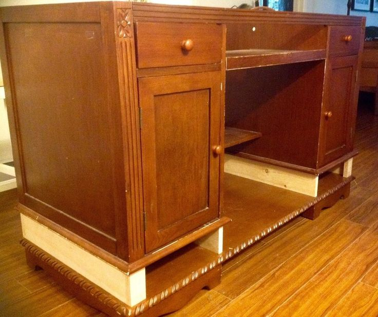 An Old Desk Gets A New Life As A