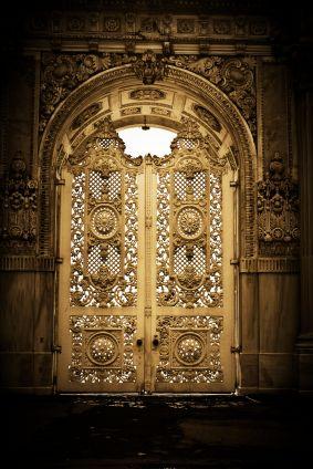 Ornate door in Turkey, by Serdar Yagci
