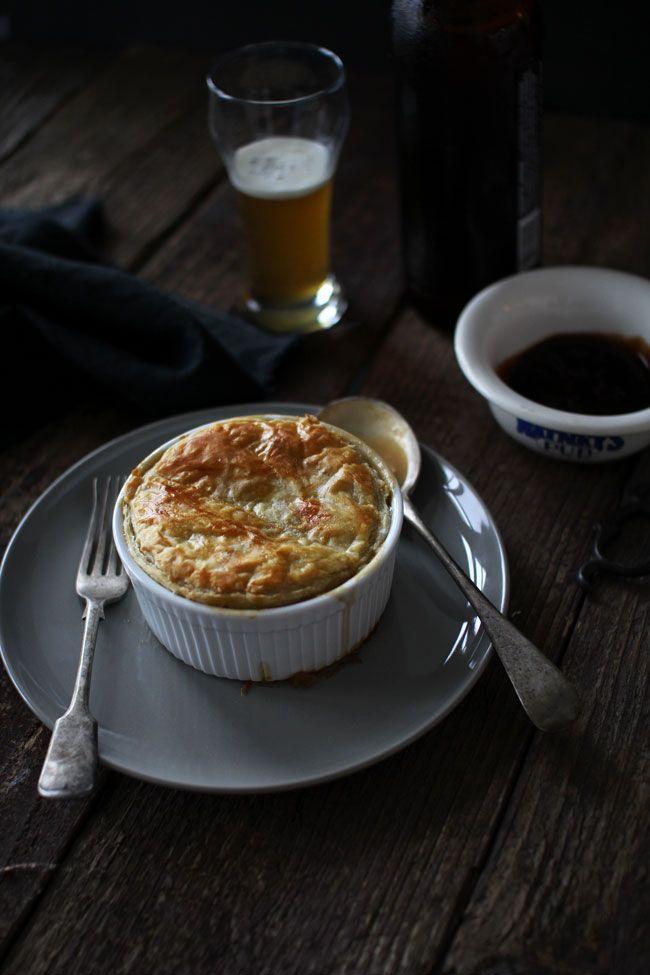 Mini Vegetarian Pot Pies | Flourishing Foodie