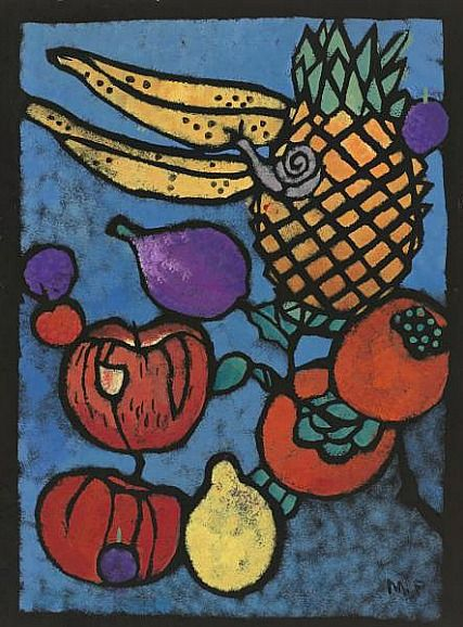 Margaret Preston, The Snail, 1949 - via still life quick heart