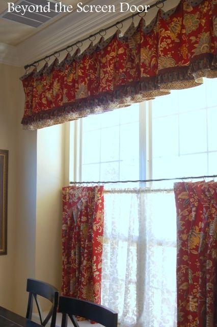 best 25 cafe curtains kitchen ideas on pinterest